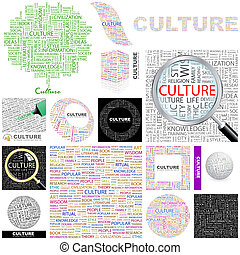 Culture. Concept illustration.