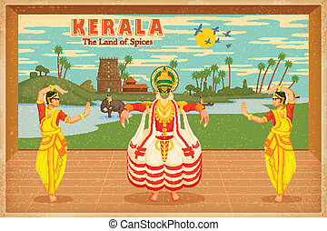 Culture of Kerala - illustration depicting the culture of ...