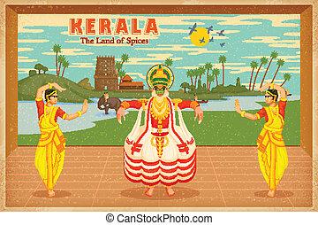 Culture of Kerala - illustration depicting the culture of ...
