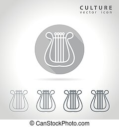 Culture outline icon