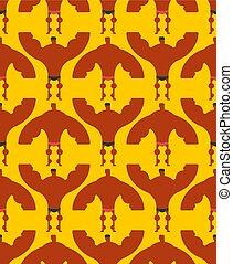 culturista, pattern., seamless