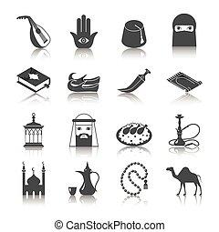 cultuur, arabische , pictogram