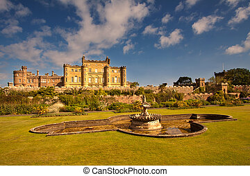 Culzean Castle, Ayrshire, Scotland is a palatial cliff top...