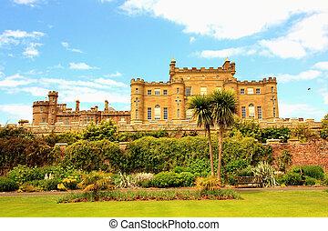 Culzean Castle, Scotland - Culzean Castle with beautiful...