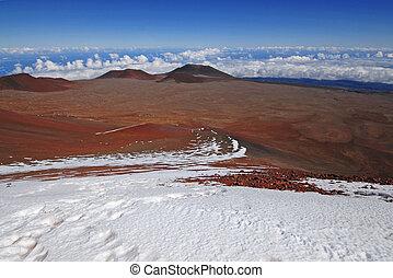 cumbre, mauna kea, hawai