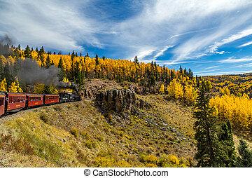 Cumbres & Toltec Railroad - a cumbres & Toltec steam...