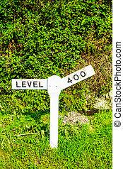cumbria, signe, ferroviaire, haverthwaite, lakeside, destination, station