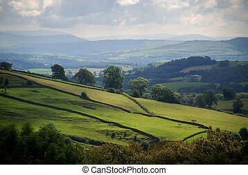 Cumbrian landscape - Lake District, England