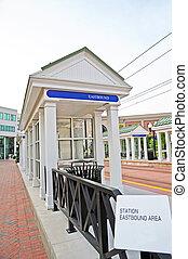 cummuter, estación de tren