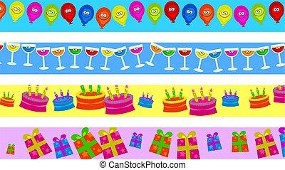 cumpleaños, fronteras