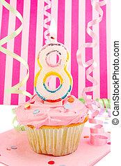 cumpleaños, joven, girl\\\'s