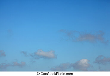 Cumulus Clouds - A stock photo of some cumulus clouds set...