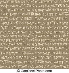 cuneiform, ∥あるいは∥, assyrian, sumerian, 背景, 古代, 碑文