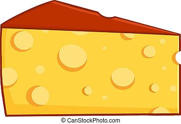 cuneo, cartone animato, formaggio