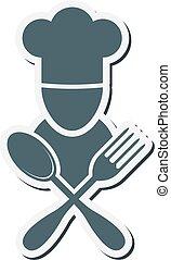 cuoco, emblema