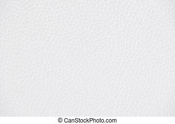 cuoio, sfondo bianco, lucido, struttura