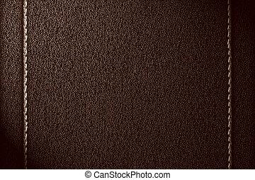 cuoio, sfondo marrone