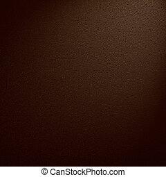 cuoio, sfondo marrone, o, struttura