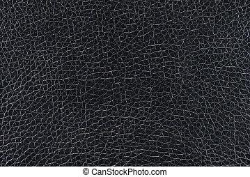 cuoio, sfondo nero, struttura