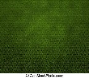 cuoio, verde, struttura, fondo