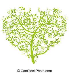 cuore, albero