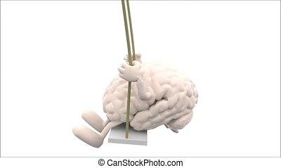 cuore, altalena,  amrs, gambe, cervello