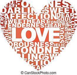 cuore, amore, parole, valentina