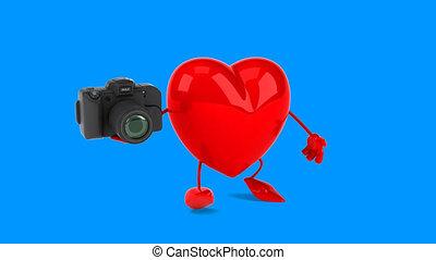 cuore, -, animazione al computer