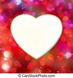 cuore, astratto, eps, 8, red., scheda