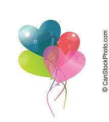 cuore, baloon
