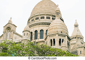 cuore,  basilica,  Coeur, parigi, dettaglio, francia,  architectual, Sacro,  Sacre,  Montmartre
