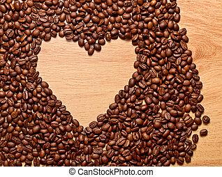 cuore, caffè