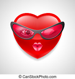 cuore, carattere