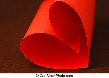 cuore, carta