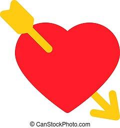 cuore, freccia