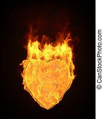 cuore, fuoco
