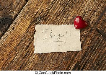 cuore, giorno, valentines, rosso