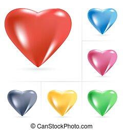 cuore, icone