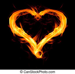 cuore, infocato
