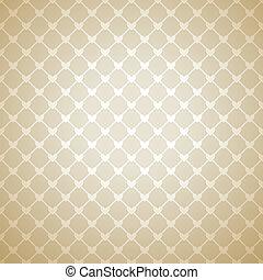 cuore, laccio, parete, luminoso, tuo, design., tela, tessuto, fiducioso, pattern., struttura, fondo., libro, carta da parati, illustrazione, stoffa, riscaldare, delicato, romantico, vettore, beige, cover.