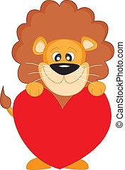 cuore, leone