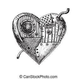 cuore, meccanico
