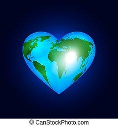 cuore, mondo