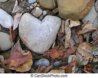 cuore, roccia, 3