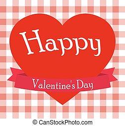 cuore, s, giorno, valentina