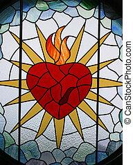 cuore, sacro, gesù