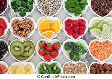 cuore sano, cibo