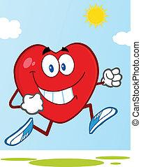 cuore sano, jogging