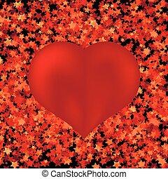 cuore, simbolo, rosso