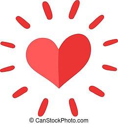 cuore, solidarietà, simbolo